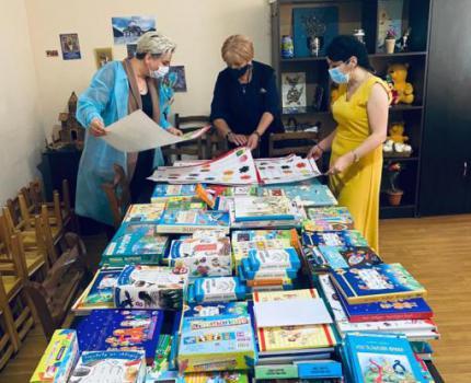 Book Distribution In Racha Kindergartens